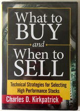 WHAT TO BUY AND WHEN TO SELL by Charles Kirkpatrick * New Stock Trading DVD *