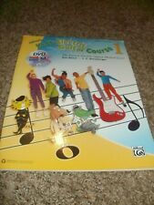 Kids Electric Guitar Course 1 Alfred's Book Dvd Manus Harnsberger