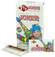 One (1) Box of Joker 1 1/2 Cigarette Rolling Papers -78mm 24 Booklets