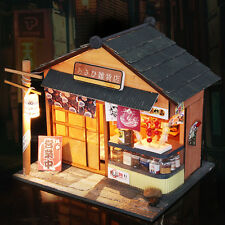 DIY Dollhouse 3D Japanese Architecture Wooden House Miniature DIY Furniture Kits