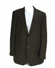 Ted Baker London Mens Suit Jacket Blazer Dark Brown Wool Made In Italy Size 44 L