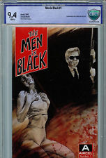 Men in Black #1 First print CBGC 9.4 NM New 1990 Aircel 1st  Jay Kay and Jed