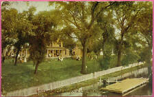 Postcard SIOUX CITY IA  Riverside Club