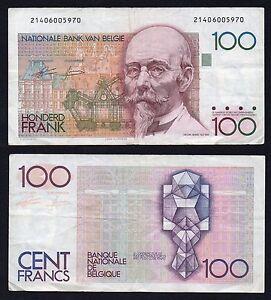 Belgio / Belgie - 100 francs 1978(81)  BB/VF  B-05