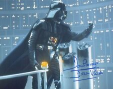 DAVE PROWSE Signed 10x8 Photo STAR WARS DARTH VADER COA