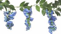 Wisteria Garland MANY COLORS Wedding Arch Gazebo Decor Silk Flowers Centerpieces