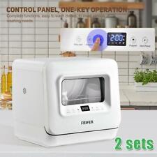 New listing 2 Sets Of Portable Mini Countertop Dishwashers Cookology Freestanding Fruit Wash