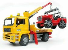 BRUDER MAN TGA camion trasporto jeep 02750