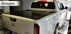 Rollback Tonneau Cover For 2016+ Nissan Navara NP300 Sliding Retractable BLACK