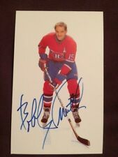 Bobby Smith Canadiens Autographed Signed Postcard