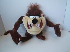 "Looney Tunes 12"" Taz Plush Tasmanian Devil Stuffed Animal With Tags Six Flags"