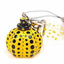 Yayoi Kusama 'Dots Obsession' Pumpkin Charm Mobile Phone Strap / Zipper Pull New