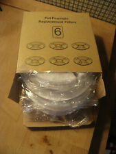 New listing 6 round filters for Catit Flower Fountain