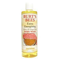 Burt's Bees Extra Energizing Citrus & Ginger Body Wash ~ New ~ 12 Fl. Oz.