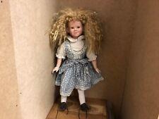 Elke Hutchens Porzellan Puppe 49 cm. Top Zustand