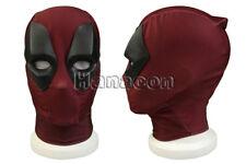 Deadpool 2 Superhero Mask Halloween Cosplay Fullface Red Helmet Prop Comic Con
