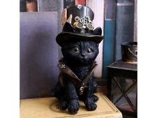 COGSMITHS CAT 18.5cm Gothic Steampunk Kitten Nemesis Now Wiccan Wicca - FREE P+P