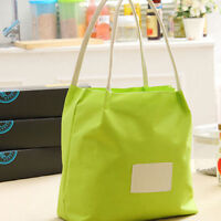Oxford Cloth Lunch Bag Thermal Insulation Picnic Fresh Grocery Box Food Shan