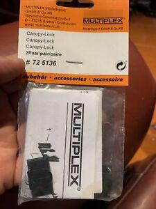 MULTIPLEX Canopy Lock Pair 725136