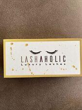 Lashaholic Luxury Lashes Instaglam False Eyelashes. New Never Used