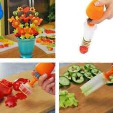 DIY Cake Fruit Vegetable Maker Shaper Set Food Decor Cutter Salad Kitchen Gadget