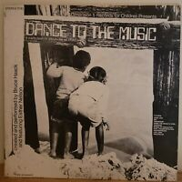 Dance to The Music Bruce Haack Vinyl LP Esther Nelson 1972 Dimension 5