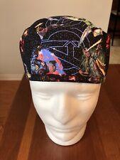 Marvel Avengers Men's Surgical Scrub Hat - Skull Cap