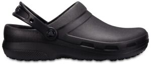 Crocs Specialist II Schuhe Arbeitsschuhe Clogs Sandale Rutschfest (Black)