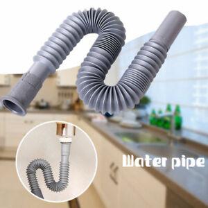 Universal Flexibel Küche Waschbecken Verlängerung Abfluss Schlauch Rohr Ersatz