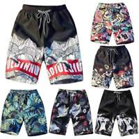 Men Couple Summer Beach Casual Shorts Athletic Gym Sports Swimwear Short Pants