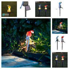 Parrot LED Solar Power Lawn Light Waterproof Garden Landscape Lamp Outdoor Decor