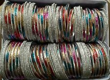 Bollywood 10 Dzs.  Colors Disco Dance Bangles , Mehandi Sangeet Bridal Party