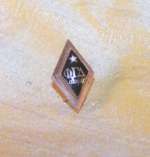 ANTIQUE Phi Gamma Delta 14K gold member pin / badge, Xi chapter 1920 FIJI OLD
