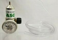 Gasco 70 Flow 0.5 SLPM Gas Cylinder Regulator Flow Rate 0.5Lpm
