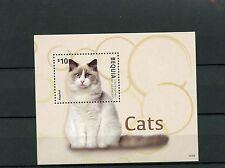 Bequia Grenadines St Vincent 2014 MNH Cats 1v S/S Ragdoll Domestic Animals Pets