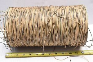 LARGE Spool Stranded Wire -  12 inch tall  -  WESTERN ELECTRIC ERA