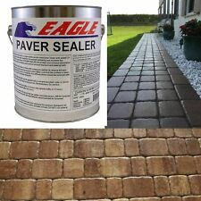 1 GAL. Clear Wet Look Solvent Based Acrylic Concrete Paver Sealer Waterproofer