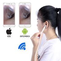 Earwax Wifi Digital Led Otoscope Camera Scope Ear Wax  Cleaning Tool Removal Kit