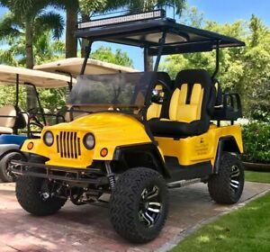 LIBERATOR GOLF CART BODY front only