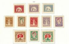 Lithuania #70-80 Complete Set 1920 MH