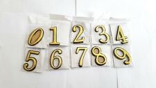 QUALITY DOOR BIN NUMBER NUMBERS DIGIT ADDRESS ADHESIVE GLOSS FINISH HOME SIGN