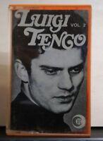 LUIGI TENCO vol.2 - musicassetta originale d'epoca - 2 luglo 1970  RI-K 740090