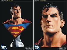 DC: Sideshow: SUPERMAN LIFE SIZE BUST (1:1 scale) - RARE (batman/statue/justice)