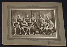 "1909/10  - SOCCER - ""ST ML"" TEAM - CABINET - PHOTO - STOWES STUDIO, NY -ORIGINAL"