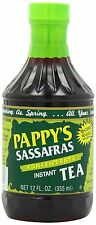 Pappy's Sassafras Concentrate Instant Tea, 12 Oz Bottles (Pack of 6)