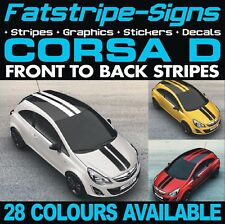 VAUXHALL CORSA D LIMITED STRIPES EDITION GRAPHICS DECALS STICKERS VXR OPEL GSI