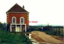 PHOTO  ISLE OF WIGHT NEWTOWN OLD TOWN HALL IN 1988 A HORSE-RIDER AND THEIR COMPA