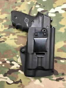 Black Kydex IWB Holster for Sig P229R Streamlight TLR-1/ TLR-1HL w/ adj ret.