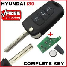 Hyundai i30 key Remote Control Transponder Car Key + Programming Available