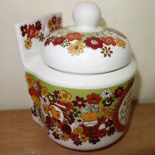 Figgjo Flint Turi Folklore Mehldose 0,8l  flour jar Mid 60's Scandinavian Norway